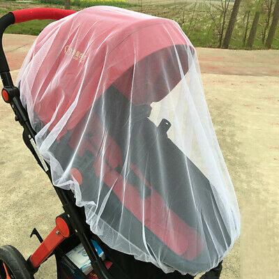 Infant Pushchair Stroller Pram Mosquito Fly Insect Net Mesh Buggy Cover BZ2