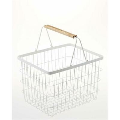 12.2 x 16.3 in. Tosca Laundry Basket - Medium, White