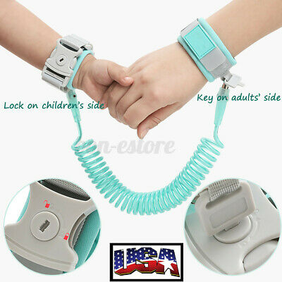 Baby Anti Lost Wrist Link Toddler Kids Safety Harness Leash Wristband Ropes Belt
