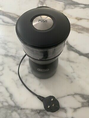 DeLonghi KG40 Electric Coffee-Bean Grinder with Stainless-Steel Blade - used