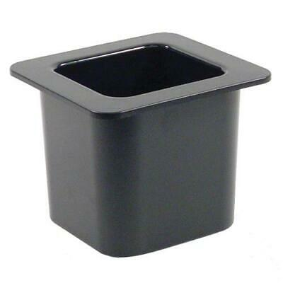 Cambro - 66CF110 - 1/6 Size 6 in Black ColdFest® Cold Pan