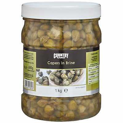 Country Range Capers in Brine - 1x1kg