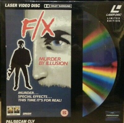 Laserdisc - Fx Murder By Illusion Pal Stereo Laser Disc
