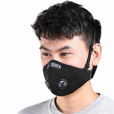 Breathable Mesh Filter Training Smog Filter Racing Dust Filter Cycling Bike UK
