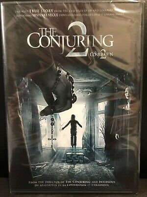 The Conjuring 2 (DVD, 2016, Widescreen, Bilingual)-Horror