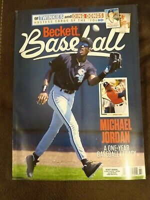 Beckett baseball price guide July 2020 issue with Micheal Jordan on cover