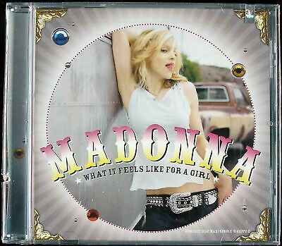 "Madonna ""What It Feels Like For A Girl"" 2001 Cd Maxi Single 9 Tracks *Sealed*"
