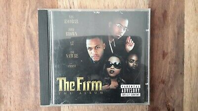 The Firm Rap Hip Hop CD Nas Escobar Foxy Brown AZ Nature Album Firma  Ice Cube