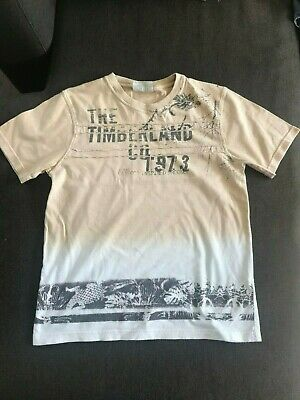 TIMBERLAND - boys printed ombre t-shirt - age 10