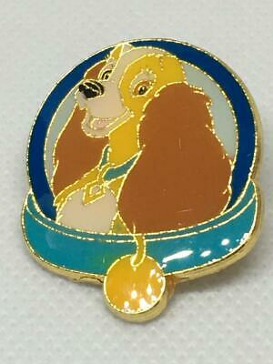 Disney Trading Pin - Lady - Dog Collar - Lady & the Tramp Magical Mystery Pin