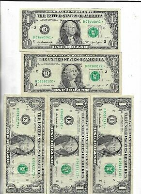 Rare US ☆ Dollar Bill Collectible Paper Money Small Size Note Collection Lot:15
