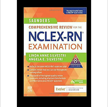 Saunders Comprehensive Review for the NCLEX-RN Examination  ✅ FDP ✅