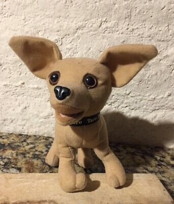 New Yo Queiro Taco Bell Chihuahua How Cool is This? Talking Plush Dog  Sealed 🔥