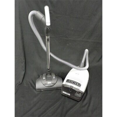 Miele SGEE0 C3 Line Cat & Dog Canister Vacuum, Electro+ Floorhead, Lotus White*