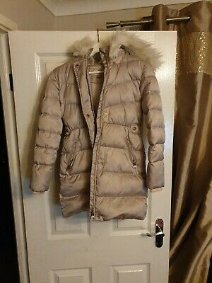 Baker by Ted BakerGirls' Ivory Padded Shower Resistant Coat Age 11 Years