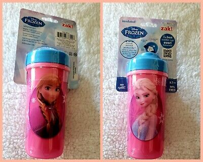 Disney Frozen Elsa Anna Cup Sofia The First Toddlerific! By Zak! Insulated Sippy