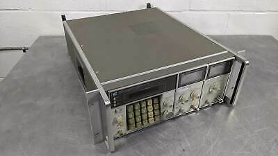 HP 8660C Synthesized Signal Generator with 86632B, and 86603A RF OPT 100