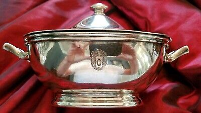RARE Constant Springs Hotel Kingston Jamaica Silver 20 oz Tureen by Rogers NICE!