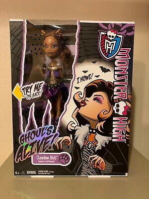 2012 Monster High CLAWDEEN WOLF Ghoul's Alive   ( Needs Batteries )