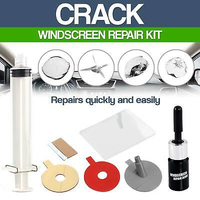 Crack Premium Repair Kit + Windscreen DIY Chip Windshield Auto Glass Wind Screen