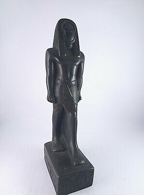 ANCIENT EGYPTIAN ANTIQUE STATUE Of Beetle Scarab Scarabs Stone 1355 Bc