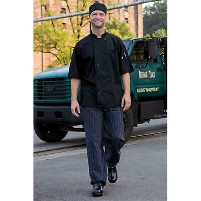 Yarn Dyed Baggy Chef Pant in Tribal Black/White - 2XLarge