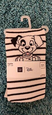 Girls Age 4-5 Years Disney GAP Dalmatian Tights  *NEW WITH TAGS*