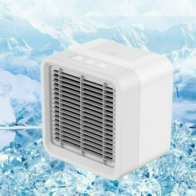 Portable Air Cooler Mini Personal Desktop Cooling Fan Air Conditioner Humidifier