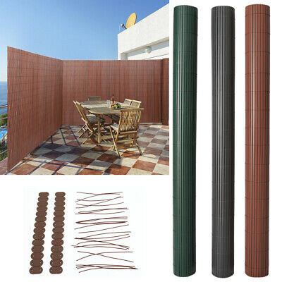 Garden PVC Bamboo Fencing Screening Privacy Fence Panel Fixing Kits/Cover Strips