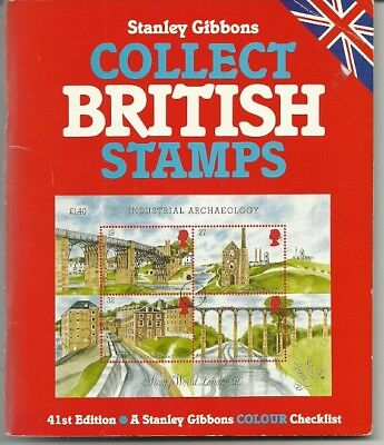 Stanley Gibbons Collect British Stamps 1990 Edition