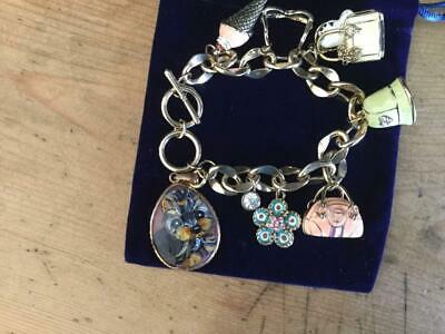 Yorkie Puppy Hand Painted Bracelet Gorgeous!!