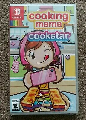 Cooking Cooking Mama: Cookstar, (2020) Nintendo Switch BRAND NEW FREE SHIPPING
