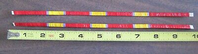 Quilled Roach  Feather Strips  Approx. 10 Inches Long