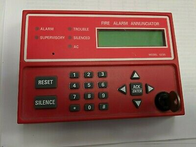 Honeywell Silent Knight SK5235 Commercial Fire Alarm Remote Annunciator