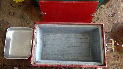 Vintage Progress Fishtail Coca-Cola Cooler Insert Coke Tray Solid Rare