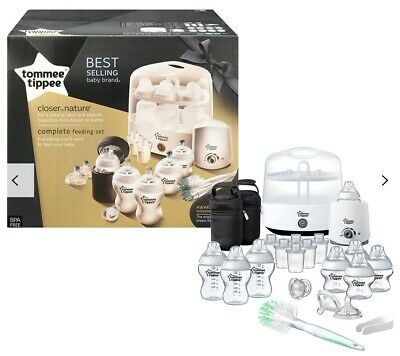 Tommee Tippee Complete Feeding Set - White ****