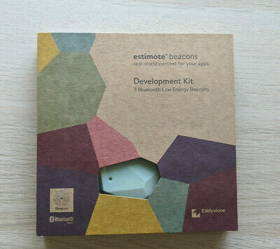 Estimote Development Kit 3 Bluetooth Low Energy Beacons - Used - No reserve