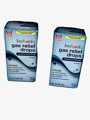 2 Compare To Infant MYLICON Gas Relief Drops  Simethicone 20mg COLLECTIVE 11/19