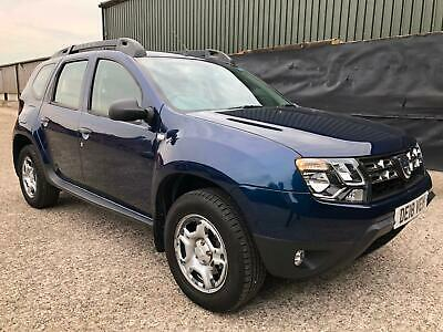 2018 Dacia Duster 1.6 Petrol, SCe,115bhp, Ambiance, **Ultimate Value**