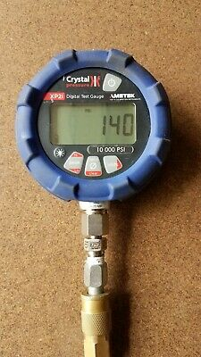 Used Ametek/Crystal Engineering XP2i Digital Pressure Gage 10,000 PSI