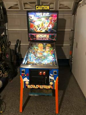 Red & Ted's Roadshow Pinball Machine! Beautiful Family Friendly Game!!**L@@K!!*