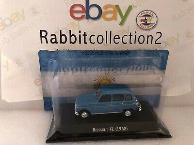 "Die Cast "" Renault 4L (1968) "" Autos Inolvidables Salvat 1/43 ARG16"