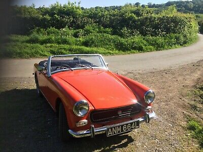 MG Midget 1972 Round Wheel Arch