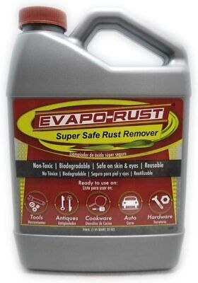 Evapo-Rust Super Safe Rust Remover Water-Based Non-Toxic Biodegradable 32oz
