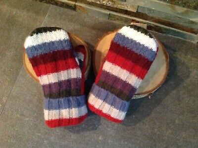 Sweater Mittens, Handmade Recycled Wool Sweater Mittens,Ladies,Teen, Gift Idea