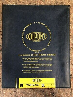Dupont Varigam DL Photographic Paper - 8x10 in. - Unopened - Exp. 5-56