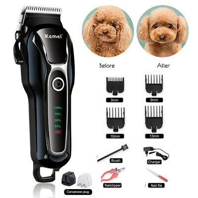 Professional Pet Dog Grooming Clipper Thick Fur Hair Trimmer Electric Shaver Q
