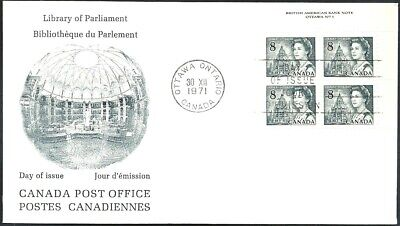 Canada   # 544 URpb   QUEEN ELIZABETH II      Brand New 1971 Unaddressed Cover
