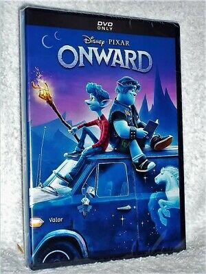 Onward (DVD, 2020) NEW Tom Holland Chris Pratt Octavia Spencer Wilmer DISNEY