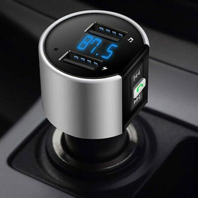 Wireless Bluetooth Car Kit FM Transmitter +MP3 Player USB Charger Handsfree